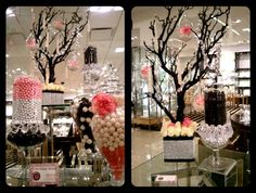 Bloomingdales candy buffet display