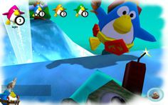 Cut the ropes and ice blocks to get the penguins to reach the blocks of the same color. Remember that one block can only clear one penguin and that means you might have to split the blocks to meet your needs. The fewer cuts you use, the more stars you get. Use the mouse to play.  http://www.freeonlinegamestore.com/colorful-penguins2/