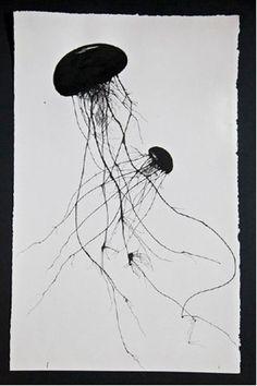 Marine life print