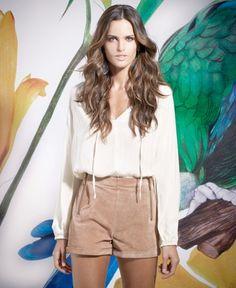 Izabel Goulart Fronts SuiteBlanco Spring 2014 Campaign