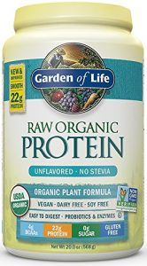 10. Garden of Life, Organic Vegan Protein Powder