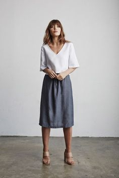 Just a pretty style | Latest fashion trends: Skirt