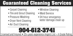 Guaranteed Cleaning Service