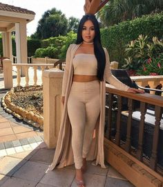 Hot Sale 2016 Fashion autumn Rompers Women Jumpsuits Slim fit Two Piece Set Sexy Lady Sleeveless bodycon playsuit Rompers Women, Jumpsuits For Women, Long Jumpsuits, Mode Style, Fashion Killa, Swagg, Playsuit, Dress To Impress, Autumn Fashion