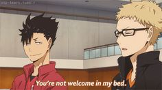 there's OTP in my eye kurotsuki