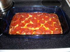 LOW CARB-HIGH PROTEIN PIZZA Recipe