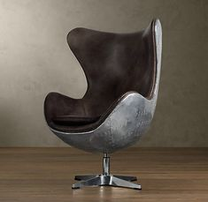 Leather Copenhagen Chair from Restoration Hardware. The Distressed Whiskey color is on sale and I like it. Aviation Furniture, Home Furniture, Furniture Design, Chair Design, Furniture Ideas, Aviation Decor, Lobby Furniture, Library Furniture, Danish Furniture