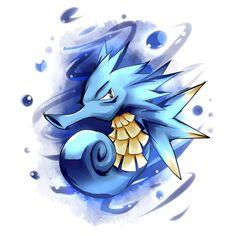 Seadra. One of the strongest Pokemon that Ryan has