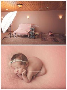 Neugeborene Fotografie - Behind the scenes Newborn Photography - Newborn Photography Tips, Newborn Photography Studio, Children Photography Poses, Newborn Photographer, Children Poses, Photography Outfits, Photography Props, Newborn Baby Photos, Newborn Poses