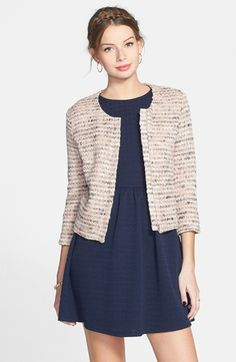 Elodie Tweed Jacket (Juniors) available at #Nordstrom