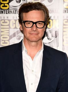 2f6482417c10 Black Frame Glasses  Master the Look Colin Firth