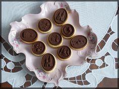 Sušenky s čokoládkou | Blog Ivany a Zdeňka