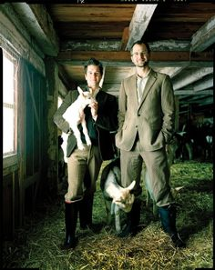 """Josh tells the story of how they purchased Beekman 1802 Farm and how they survived the recession of 2008 in his national bestseller """"The Bucolic Plague."""""""