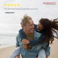 Thanks, Christen! We think our prints are a perfect gift to show your significant other just how much you love them! We're glad your fiance loved the gift! Canvas Frame, Canvas Art, Canvas Prints, Romantic Scenes, Beach Umbrella, One Image, Significant Other, Romantic Gifts, Beach Pictures