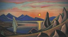 Nicholas Roerich selected paintings slideshows