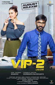 Velaiilla Pattadhari 2  2017 Movie Free Download 720p BluRay Full Name: Velaiilla Pattadhari 2  Cast: Dhanush, Kajol, Monal Gajjar, Hrishikesh Director: Soundarya Rajnikanth Writer: Dhanush (story and dialogue) Duratiion: 2h 8min Quality: N/A Genres: Comedy, Drama Release Date: 11 August 2017 Language: Hindi