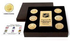 NHL Original Six Bronze-Coin Set