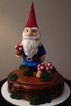 Garden Gnome cake