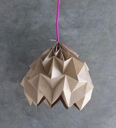 DIY Magic Ball Lampe ludorn home home DIY Magic Ball Lampe ludorn home Diy Origami, Mobil Origami, Origami Lampshade, Origami Paper Art, Paper Lampshade, Origami Design, Lampshades, Paper Bag Design, Lamp Inspiration
