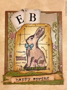 From My Art 2 Yours: Easter Blueprint Cards