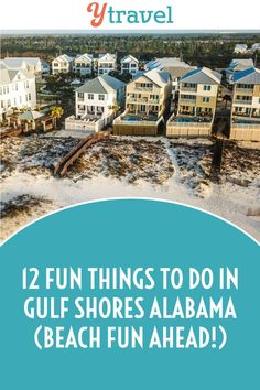 Let's go to the beach! There is so much fun to be had in Gulf Shores and Orange Beach, from bike riding in Gulf State Park, to kicking back with your toes in the sand. Head to our blog for 12 fun things to do in Gulf Shores, Alabama! #Alabama #BeachVacation #BeachVacationIdeas #AlabamaVacation #TravelTips #TravelIdeas #FamilyTravel #RoadTrips