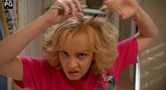 """Beverly Goldberg has killer hair. 
