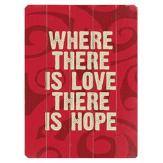 Where There is Love Wall Art
