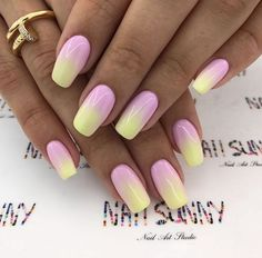 Summer Nails 56 catchy summer nail designs for fun loving women nail 2019 35 Aycrlic Nails, Hot Nails, Pink Nails, Fancy Nails, Trendy Nails, Easter Nails, Dipped Nails, Best Acrylic Nails, Dream Nails