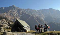 Trekking in Himachal Pradesh: From the Pir Panjal and Dhauladhar mountain ranges...