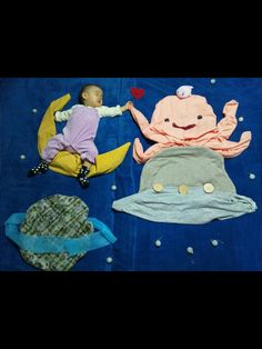 OMG so cute, sleeping baby art