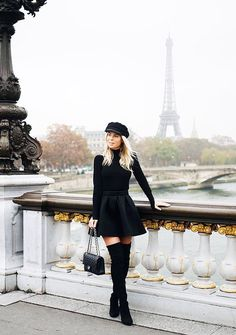 7cab9bb3b792b The Hat Style That s Trending This Winter via  WhoWhatWearUK Paris Outfits