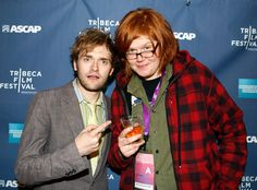 Brett Dennen and The Infamous Stringduster's Chris Thile at the Tribece Film Festival 2008