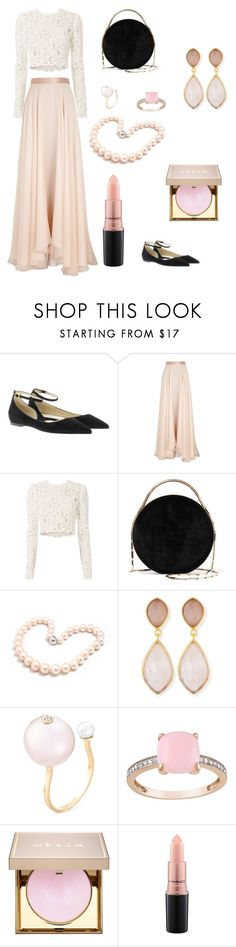 """pastel"" by fixhi ❤ liked on Polyvore featuring Jimmy Choo, Lanvin, A.L.C., Eddie Borgo, Hiho Silver, Dina Mackney, Delfina Delettrez, Stila and MAC Cosmetics"