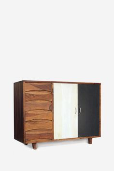 retro sideboard x x in sheesham u mango wood Black Sideboard, Sideboard Table, Small Sideboard, Mid Century Sideboard, Vintage Sideboard, Sideboard Furniture, Solid Wood Furniture, Furniture Design, Online Furniture
