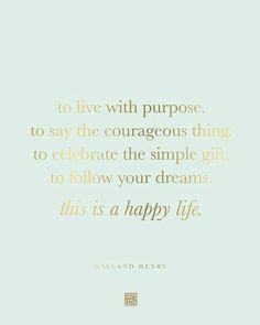 Happy life..