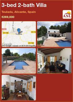 3-bed 2-bath Villa in Teulada, Alicante, Spain ►€269,000 #PropertyForSaleInSpain