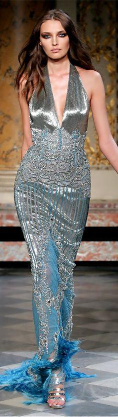 Zuhair Murad ● Evening Gown (not fond of halters that zuhair murad does- but a gorgeous gown)