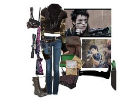 """""""Z Nation Surviving with 10 Thousand Season1"""" by werewolf-gurl ❤ liked on Polyvore featuring Chantal Thomass, True Religion, RIFLE, STELLA McCARTNEY and Gerber"""