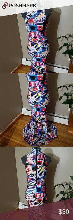 Mermaid style full length dress Mermaid style, fitted full length dress with halter style high neckline Dresses