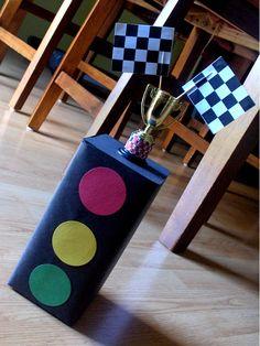 bellygusher: Kris' 6th birthday - race car