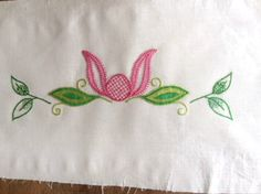 Jacobean embroidery panel to stitch