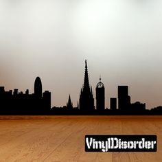 Las Vegas Nevada Skyline Vinyl Wall Decal Or Car Sticker SS - Custom vinyl decals las vegas