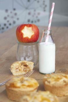 gedeckter Mini-Apfelkuchen mit Zimt | my cooking love affair