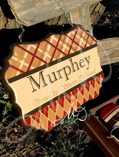 Hand Painted Wood Custom Stall Sign by MoxieDesignsATX on Etsy, $85.00....this ones for my old horse...