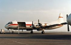ZANTOP L-188 Electra Freighter. Cargo Aircraft, Cargo Airlines, Aviation, History, Alaska, Planes, Hawaii, Usa, People