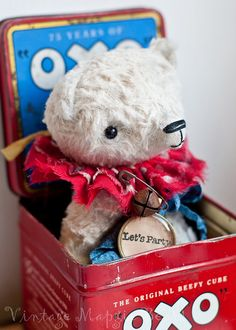 Jubilee Bear by The Vintage Magpie, via Flickr