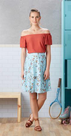 Só na Antix Store você encontra Blusa Ombro a Ombro Lisa com exclusividade na…