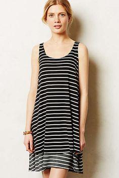 Anthropologie - Striped Duet Dress