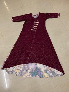 Cotton Kurties, Modest Fashion Hijab, Indian Suits, Dress Patterns, Casual Wear, Designer Dresses, Cold Shoulder Dress, Girls Dresses, Boutique