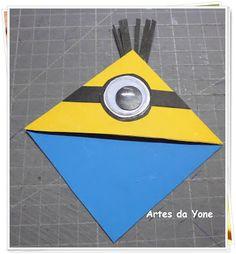Artes da Yone !: Marcador de Livros Minions - Parceria Filiperson
